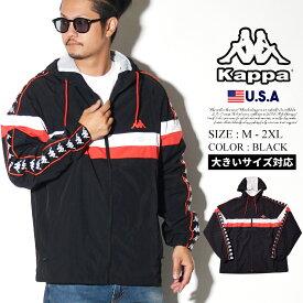 KAPPA カッパ ジャージ ナイロンジャケット サイドライン BANDA マウンテンパーカー B系 ファッション ヒップホップ ストリート系