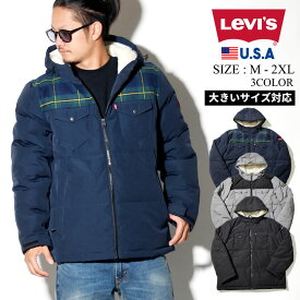 Levis リーバイス 中綿ジャケット メンズ ボア LEVI'S ストリート系 ファッション LM8RP184