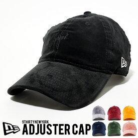 NEWERA ニューエラ キャップ 帽子 9THIRTY クロスストラップ ベルベット newera ミニロゴ NEW YORK