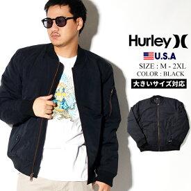 Hurley ハーレー MA1 メンズ ブランド ジャケット 冬 着こなし コーデ CI2658 大きいサイズ
