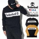 Timberland ティンバーランド ロンT メンズ 大きいサイズ 長袖Tシャツ USAモデル ツリーロゴ ロングスリーブ ロゴTシャツ TB0A1Z24 ストリート ファッション アウトドア