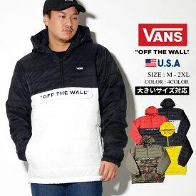 VANS バンズ アノラック 中綿 ダウンジャケット メンズ VN0A45B1 USモデル 2019秋 新作