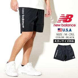 NEW BALANCE ニューバランス ナイロン ショーツ ショートパンツ ハーフパンツ メンズ ストリート ファッション カジュアル NB アスレチックス ウインド ショーツ MS01511