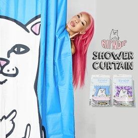 RIPNDIP リップンディップ シャワーカーテン バス用品 ストリート ファッション Lord Nermal Shower Curtain RND2325