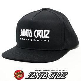 Santa Cruz サンタクルーズ キャップ メンズ スナップバック ストラップバック 帽子 ロゴ 刺繍 ストリート ファッション Valiant Mid Profile Snapback 44441946