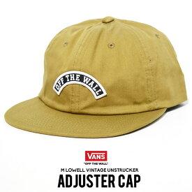 VANS バンズ キャップ ストラップバックキャップ アジャスター 帽子 ファッション メンズ ストリート系 VN0A45DWDZ9 LOWELL VINTAGE UNSTRUCTURED