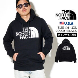 THE NORTH FACE ザ ノースフェイス パーカー メンズ 大きいサイズ プルオーバーパーカー スウェット ロゴ プリント B系 ファッション ヒップホップ ストリート系 NF0A4M4B Men's Half Dome Pullover Hoodie