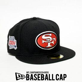 NEWERA ニューエラ キャップ 帽子 ベースボールキャップ 59FIFTY NFL サンフランシスコ・フォーティーナイナーズ