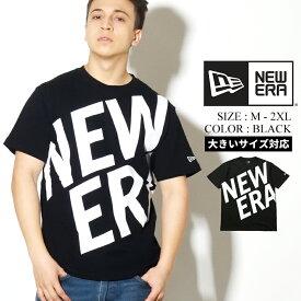 【メール便対応】【ネコポス対応】NEWERA ニューエラ Tシャツ メンズ ロゴ 半袖 B系 ファッション メンズ ヒップホップ
