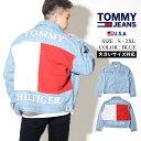 TOMMY HILFIGER トミーヒルフィガー デニムジャケット デニム Gジャン アウター メンズ ストリート ファッション ロゴ ARCHIVE FLAG TRUCKER 78E2267