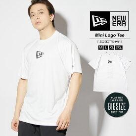 【メール便対応】NEWERA ニューエラ Tシャツ 半袖 パフォーマンス Tシャツ ラッシュ Tシャツ リア バーチカルロゴ NEW ERA ホワイト Performance Apparel メンズ ストリート ファッション 12674247