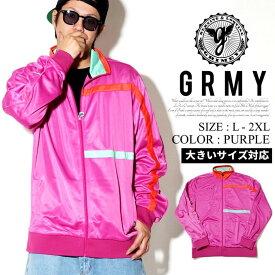 GRMY グライミー トラックジャケット メンズ ジャージ b系 ストリート系 ファッション 大きいサイズ