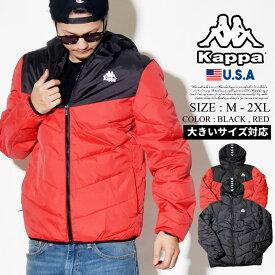 KAPPA カッパ 中綿ジャケット ライン ダウン BANDA B系 ファッション ヒップホップ ストリート系 222 BANDA AMARIT