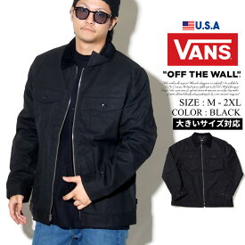 VANS バンズ ワークジャケット メンズ ダック アウター B系 ファッション メンズ ヒップホップ ストリート系 アメカジ HIPHOP