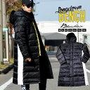 ベンチコート メンズ ダウン ロングダウンコート 膝下 ブランド ダウンジャケット 大きいサイズ 秋冬 ブラック ホワイト 韓国 ストリート ファッション