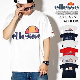 ellesse エレッセ tシャツ メンズ 半袖 ヘリテージ ロゴ EH19106 ストリートファッション ユニセックス