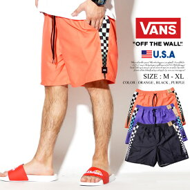 VANS バンズ ハーフパンツ メンズ ショーツ B系 ファッション メンズ ヒップホップ ストリート系 ファッション HIPHOP