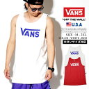 VANS バンズ タンクトップ メンズ ロゴ メンズ B系 ファッション メンズ ヒップホップ ストリート系