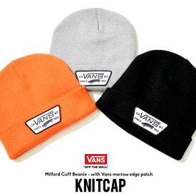 VANS バンズ ニットキャップ ビーニー ロゴ B系 ファッション メンズ ヒップホップ ストリート系 ファッション