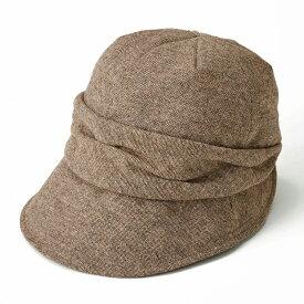 小顔魅せ耳まですっぽり帽子 〈 防寒 あったか 帽子 小顔 〉