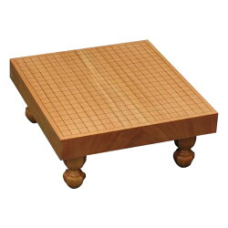 碁盤卓上・足付兼用新榧20号(ハギ)柾目GB-S209