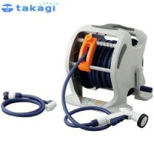 【代引不可】takagi タカギ 園芸散水用品 ホースリール マーキュリーツイスター(NB30m)