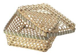 竹かご かご bamboo basketバスケット カトラリー ギフト ラッピング 天然素材 ハンドメイド 竹 什器 和 和籠 店舗陳列 ディスプレイ 什器 業務用 収納 インテリア 和室 竹製 手作り 容器 和室 和風
