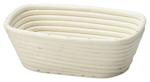 送料無料 ラタン製パン生地発酵用ねかしかご ねかし籠 パン カフェ 生地 発酵 天然素材 ラタン 籐 キッチン雑貨