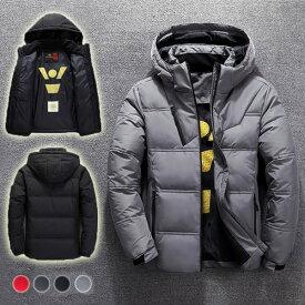中綿ジャケット メンズ アウター ジャンパー 上着 高校生 中学生 学生 10代 20代 30代 おしゃれ 冬 暖かい 黒 ブラック 2686
