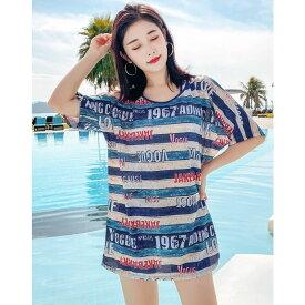 水着 高校生 中学生 ビキニ おしゃれ レディース 学生 10代 20代 大きいサイズ 体型カバー 韓国 ファッション 5756