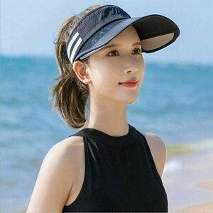 サンバイザー レディース 夏 帽子 自転車 ゴルフ テニス 釣り おしゃれ キャンプ アウトドア スポーツ 女子 カジュアル ランニング ジョギング 6659