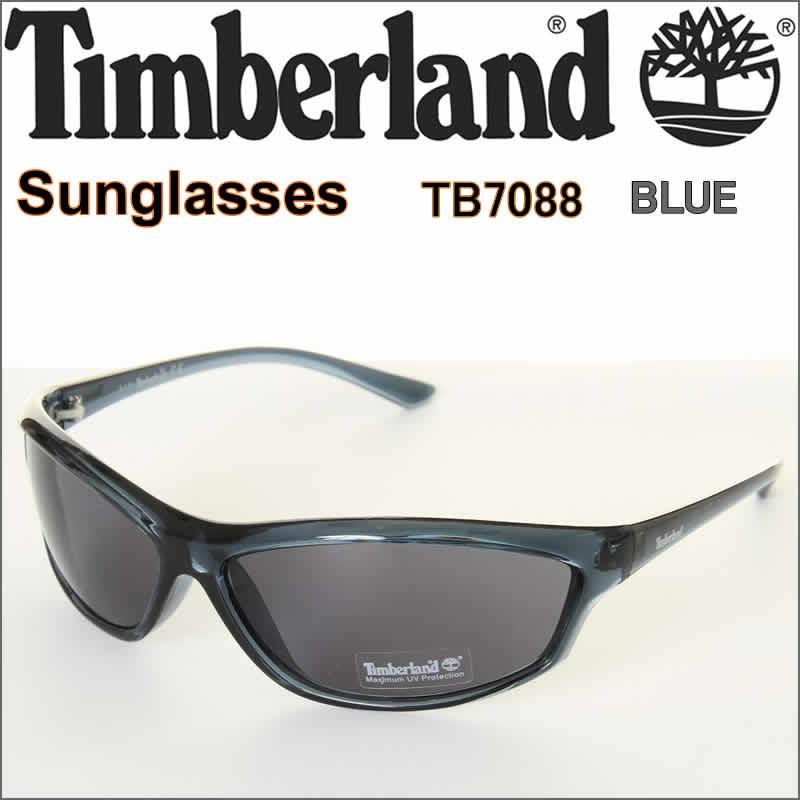 Timberland Sunglasses TB7088 BLUE ティンバーランド サングラス UV CUT UVカット ブルー USAモデル【Timber Land AMERICA MODEL テインバーランド 米国モデル アウト ドア キャンプ ハイキング トレッキング スポーツ 登山 あらゆる、場面で、活躍してくれます!】