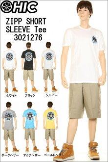 HIC H I see. T-shirt ZIPP SHORT SLEEVE TEE 3021276 HIC dot mark Hawaiian Islands Hawaii Ann t shirt hic