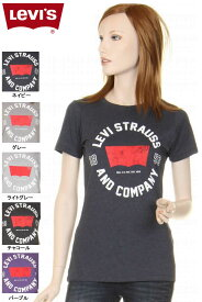 Levi's ladies T-SHIRTS 117500 LEVI STRAUS AND CANPANY ロゴ グラフィックTシャツ リーバイスTシャツ【levis リーバイス レディース 半袖tシャツ ショートスリーブ 半袖 tシャツ リーバイスロゴtシャツ 新品】