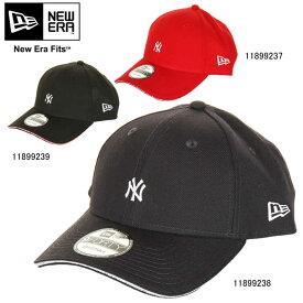 NEW ERA ニューエラ 9FORTY ニューヨーク・ヤンキース サンドウィッチバイザー 11899237 11899238 11899239 ミニロゴ キャップ CAP【NEW ERA スカーレット ネイビー ブラック 帽子 ブランド ストリート】