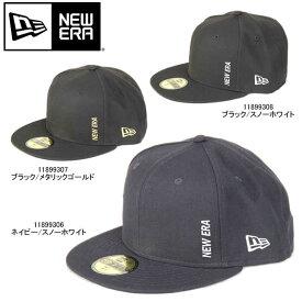 NEW ERA ニューエラ 59FIFTY 5950 エッセンシャル バーチカルロゴ Essential Mini Logo キャップ CAP【11899306 11899307 11899308 帽子 ミニロゴ ネイビー ブラック ホワイト】