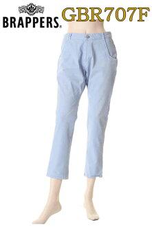BRAPPERS bloopers GBR707F cropped pants blue skinny bleach Womens pants bottom samples