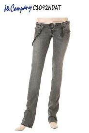 J&Company C1092NDAT jeans designs デニム ボトム ジーンズ パンツ レディース セレブ アメリカ 【ジェイアンドカンパニー カジュアル 脚長美脚 小尻 タイト スリム スキニー ブラック ニューヨークやロサンゼルスで大人気の! かっこいい】