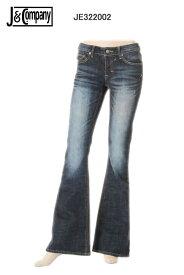 J&Company JE322002 jeans designs ベルボトム デニム ボトム ジーンズ パンツ レディース セレブ アメリカ 【ジェイアンドカンパニー カジュアル 脚長美脚 小尻 タイト スリム インディゴ ニューヨークやロサンゼルスで大人気の! かっこいい】