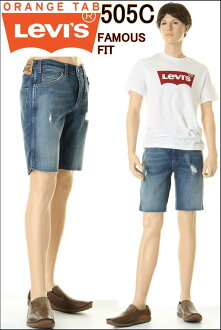 李維斯505C 29999-0004半褲子短褲粗斜紋布短褲Levi's 505C DENIM JEANS HALF PANTS