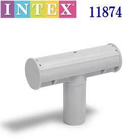 INTEX 28270 PARTS 11874 ITEM 16 逆T型エンドキャップ インテックス 28270 プール パーツ 部品 220cm アイテム Rectangular Frame Pool レクタングラ フレームプール 専用 アイテム【アメリカで大人気の楽しい ビニールプール 簡単 フレーム 大型プール 家庭用】