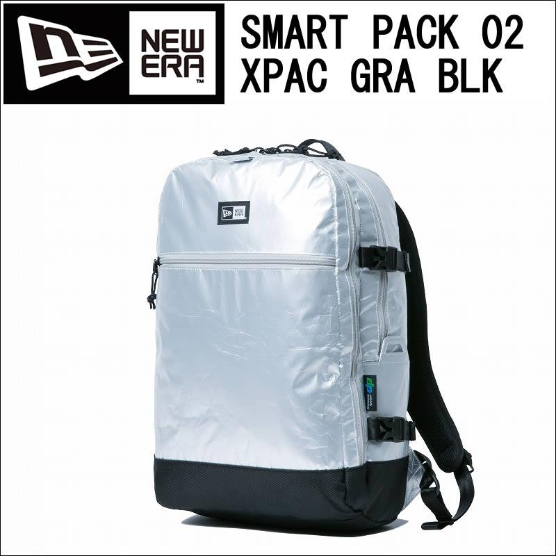 NEW ERA ニューエラ 11556603 SMART PACK 02 XPAC GRA BLK スマートパック X-PAC バックパック 約25L【NEWERA new era 11556603 グレー ブラック ニューエラ スマートパック X-PAC 約25L 新品】