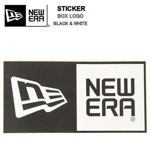 NEW ERA Die-cut Box Logo ニューエラ ダイカット ボックスロゴ ステッカー ブラック ホワイト 黒 白 ニュー エラステッカー【NEWERA STICKER ステッカー シール アクセサリー ブラック ピンク ホワイ