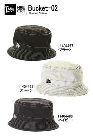 NEW ERA ニューエラ ハット BUCKET-02 HAT Washed Cotton バケットハット コットン ハット 帽子 ウォッシュド  キャップ BUCKET 11404497 11404495 11404496 NEWERA ... 4814744e477d