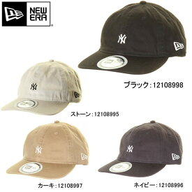 NEW ERA ニューエラ 12108995 12108996 12108997 12108998 キャップ パッカブル 折り畳み ヤンキース ロゴ ネイビー カーキ ブラック【NEWERA ニューエラ newera 刺繍 CAP cap 帽子 カジュアル 新品】