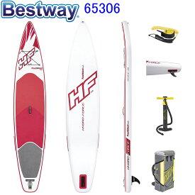 Bestway 65306 3.81m Pro Fastblaster Tech SUP Inflatable Stand Up Paddle Board ベストウェイ スタンドアップパドルボード SUPデスク2w1 フアカイ スタンドアップパドルボード パドルボード サップ セット 上級モデル【アメリカで人気】