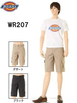 Dickies Dickies WR207 2 顏色輕鬆適合貨物種類短褲寬鬆適合的貨物短褲貨物工作褲缺口