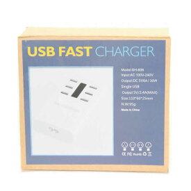 USB FAST CHARGER SH-606 CP0268 USB チャージャースマートUSB充電器 6ポート 同時充電 便利 6ポート充電器 同時充電【usb充電器 6ポート 同時 充電 usb電源アダプタ ACアダプタ コンセント 同時充電 USB充電 複数台 軽量 コンパクト 新品】