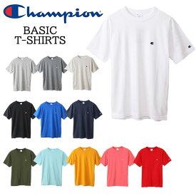 Champion チャンピオン C3-P300 Tシャツ 2020 ベーシック チャンピオン 半袖tシャツ tシャツ ホワイト グレー ネイビー ブラック【c3-p300 カラー 無地 ロゴ tシャツ チャンピオン ワンポイント Tシャツ メンズ半袖T 新品】