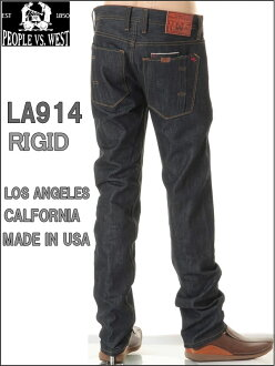 PEOPLE VS WEST LOS ANGELES CALFORNIA JEANS RAWLOT.LA-914 RIGID(リジット)